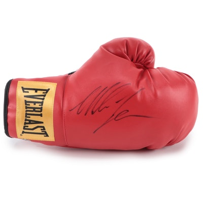 Mike Tyson Signed Everlast Boxing Glove, SCG Authentic COA