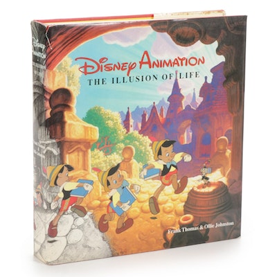 """First Edition, Third Printing """"Disney Animation: The Illusion of Life,"""" 1981"""
