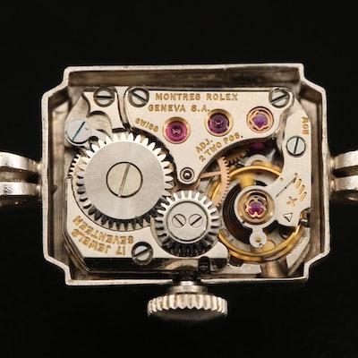 Vintage Rolex 14K Wristwatch