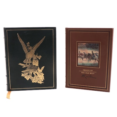 """Easton Press Signed Limited Edition """"Images of the Old West"""" and More"""
