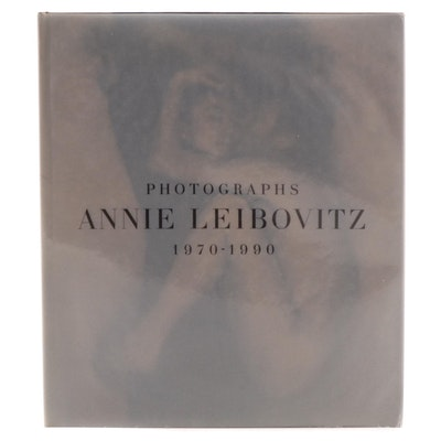 """Signed First Edition """"Photographs, 1970–1990"""" by Annie Leibovitz, 1991"""