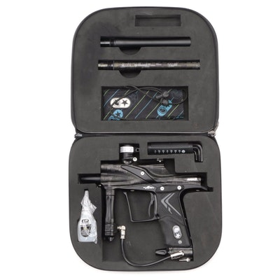 Eclipse Etek3 Paintball Gun with Accessories and Carrying Case