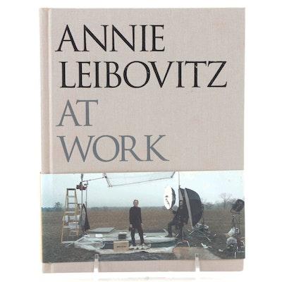 """Signed """"Annie Leibovitz At Work"""" by Annie Leibovitz, 2008"""