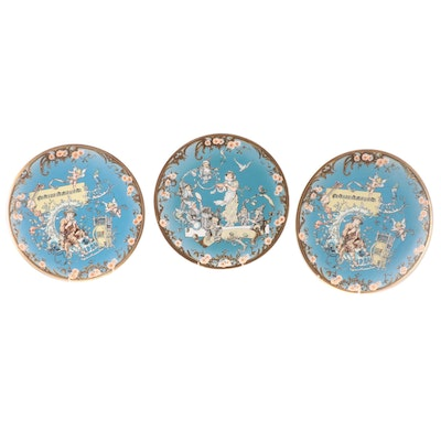 """Villeroy & Boch """"Papageno"""" Limited Edition Stoneware Collector's Plates and More"""