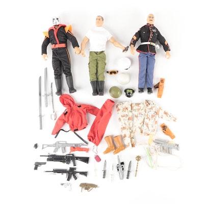 GI Joe Gung-Ho, Destro and Commando Action Figures and Accessories