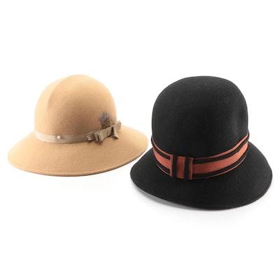 Miss Brierner and Geo. W. Bollman & Co. Women's Hats in Doeskin Felt