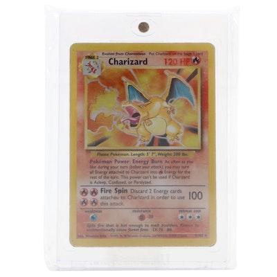 1999 Base Set Charizard Pokémon Trading Card