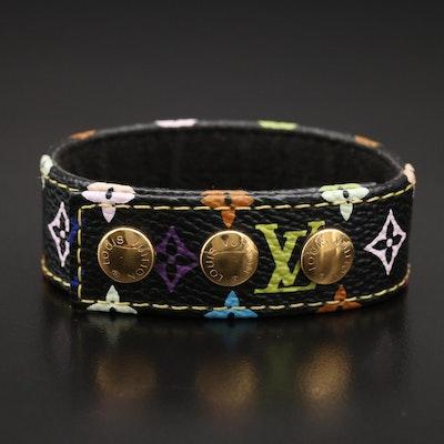 "Louis Vuitton ""Roppongi Hills September 2003"" Ltd Edition Multi-Color Bracelet"