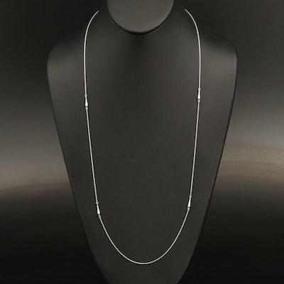 18K Station Necklace
