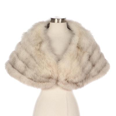 Fox Fur Capelet from Donenfeld's