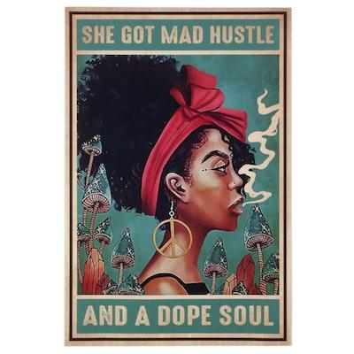 Giclée Poster of Woman, 21st Century