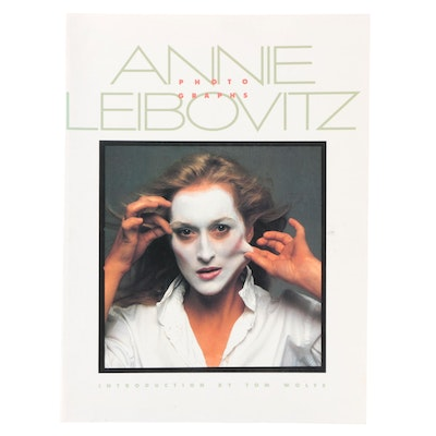 """Signed First Paperback Edition """"Photographs"""" by Annie Leibovitz, 1983"""