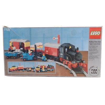 Lego Battery Train Set, Late 20th Century