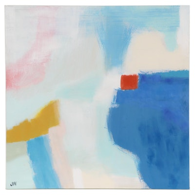Jenny Westenhofer Abstract Oil Painting