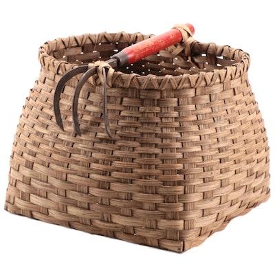 That Kentucky Lady Handwoven Garden Tote Basket, 2013