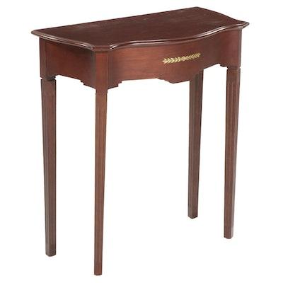Bombay Company Directoire Style Mahogany Entry Table