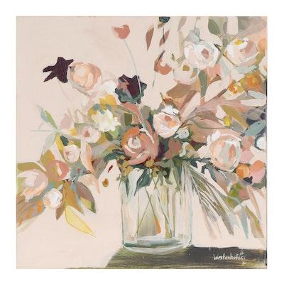 Jenny Westenhofer Floral Still Life Oil Painting