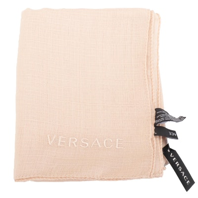 Versace Collection Wrap in Silk/Wool Blend