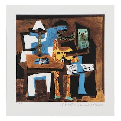 "Giclée After Pablo Picasso ""Three Musicians"""