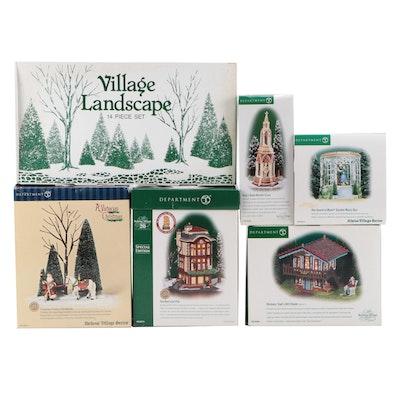 "Department 56 ""Dickens' Village Series"" and ""Alpine Village Series"" Accessories"