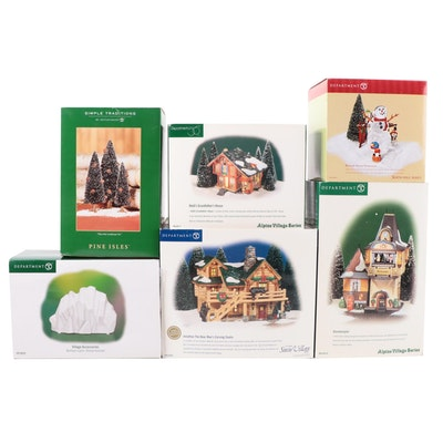 Department 56 Christmas Village Houses and Accessories, 1998–2008