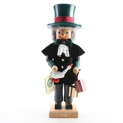 "Christian Ulbricht ""Scrooge"" Handcrafted Nutcracker"