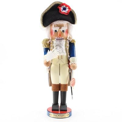 "Steinbach Handcrafted ""George Washington"" American Presidents Nutcracker"