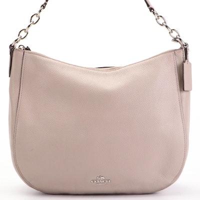 Coach Elle Pebble Grain Leather Two-Way Shoulder Bag