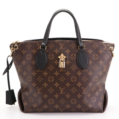 Louis Vuitton Flower Zipped Tote MM in Monogram Canvas