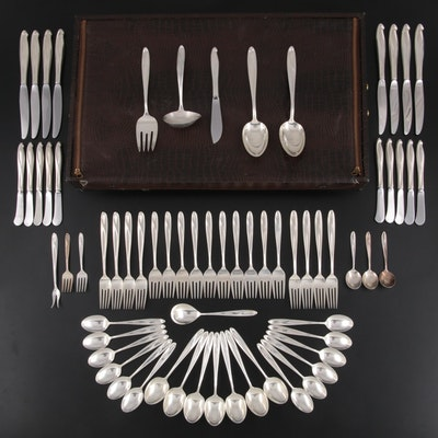 """Reed & Barton """"Silver Sculpture"""" Sterling Silver Flatware and Serving Utensils"""
