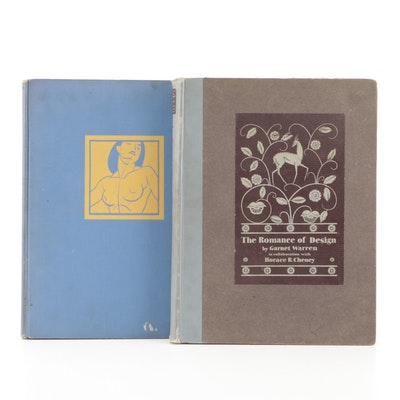 """First Edition """"The Romance of Design"""" by G. Warren and H. Cheney and More"""