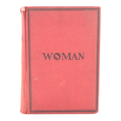 """Illustrated """"Woman"""" Anthology Arranged by William C. King, 1903"""