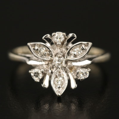 14K 0.12 CTW Diamond Ring