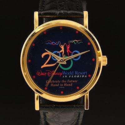 2000 Walt Disney World Resort In Florida Wristwatch