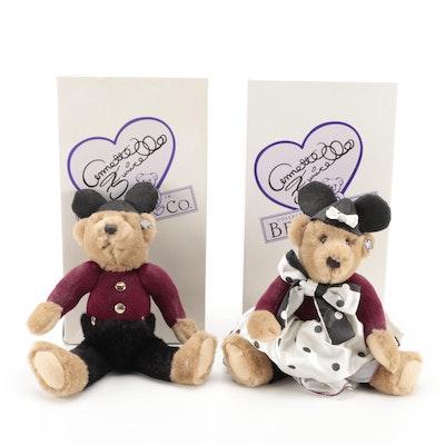 Annette and Bobby MousekeBears Walt Disney Stuffed Bears
