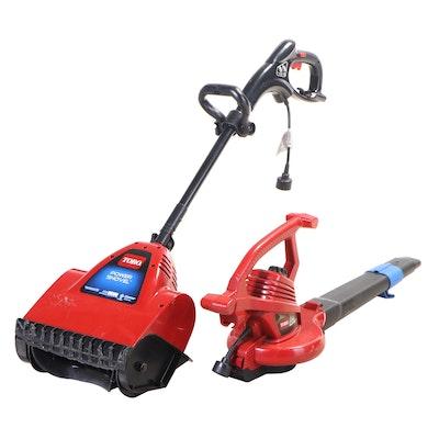 Toro Power Shovel and Ultra Blower Vac