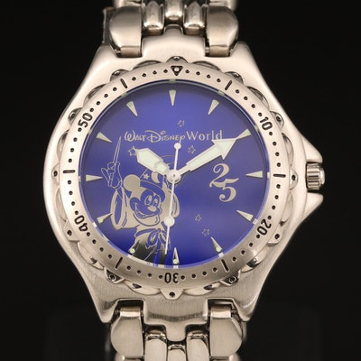Walt Disney World 25th Anniversary Limited Edition Wristwatch