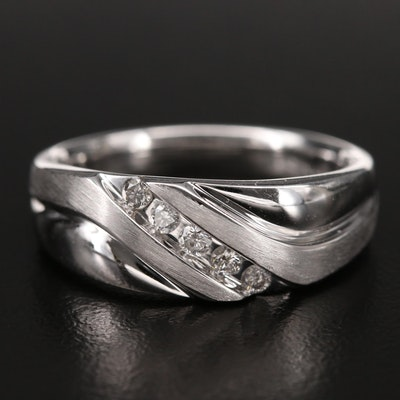 14K 0.19 CTW Diamond Ring