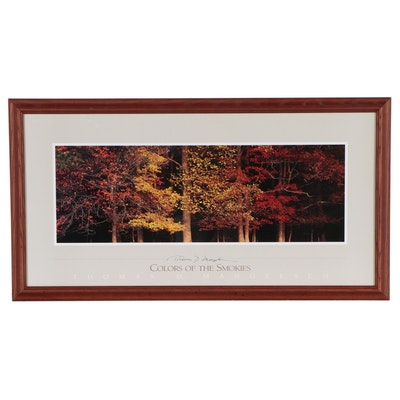 """Offset Lithograph After Thomas Mangelsen """"Colors of the Smokies"""""""