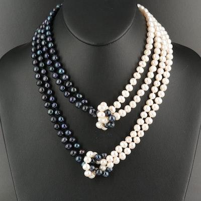 Pearl Multi-Strand Necklace