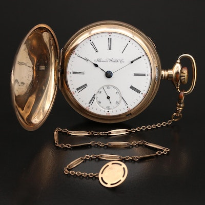 1905 Illinois Watch Co. Hunting Case Pocket Watch