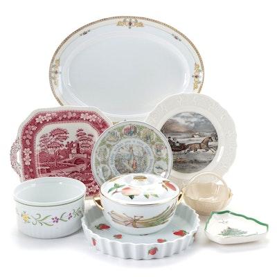 Wedgwood, Spode, Lenox, Royal Worcester Bone China and Porcelain Tableware