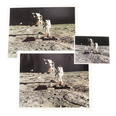 "NASA ""Man On The Moon"" Apollo 11 Offset Lithographs"