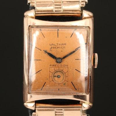 Vintage Waltham Premier Gold Filled Wristwatch