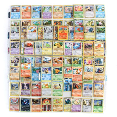 Pokémon Trading Card Collection Including Holo Cards, 1990s-2000s