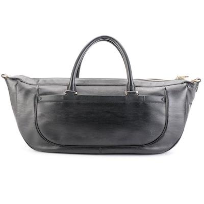 Louis Vuitton Danula Tote GM in Noir Epi Leather