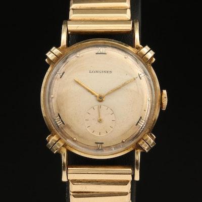 Vintage Longines 14K Stem Wind Wristwatch