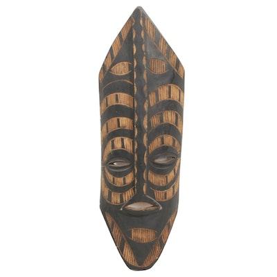 Carved Wood Mask