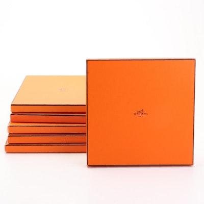 Hermès Scarf Boxes