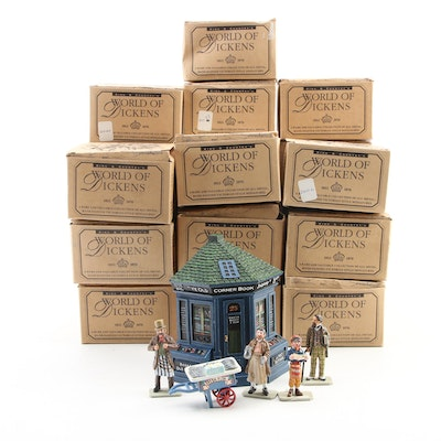 """King & Country """"World of Dickens"""" Hand-Painted Metal Figurines"""